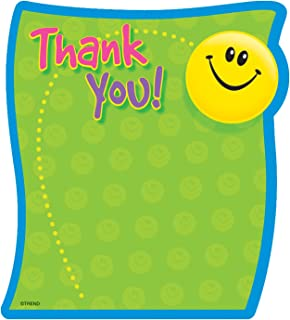 TREND enterprises, Inc. Thank You Note Pad-Shaped, 50 sheets