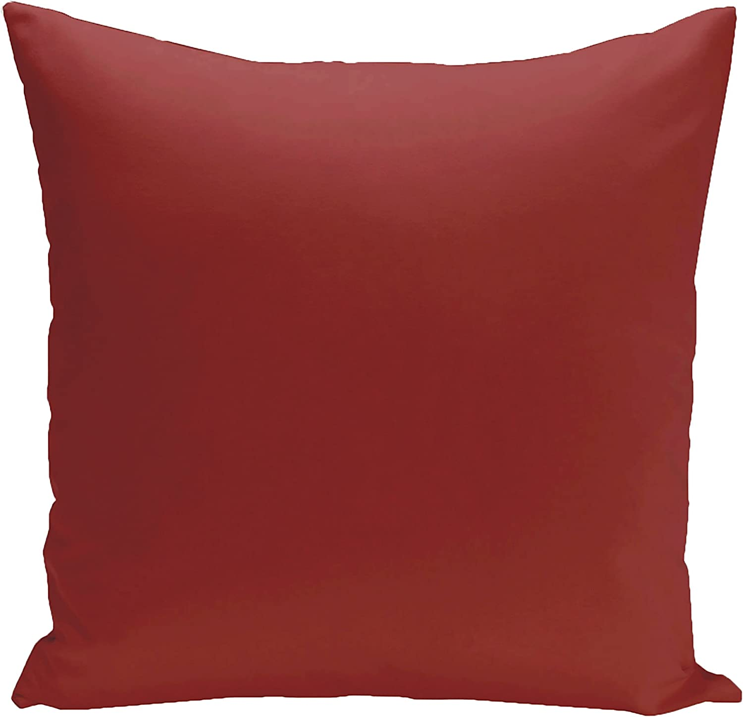 E by design PSON62Dragon26 Asian Collection Solid Decorative Pillow, Dragon,Red