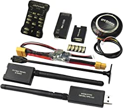 Hobbypower Pixhawk PX4 Flight Controller W/ Shock Absorber +M8N GPS 915Mhz Radio Wireless Telemetry Set OSD Module PPM Module I2C Splitter Expand Module Power Module for FPV Quadcopter Multirotor