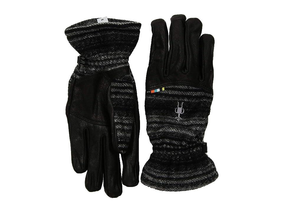 Smartwool Stagecoach Glove (Medium Gray/Black) Cycling Gloves