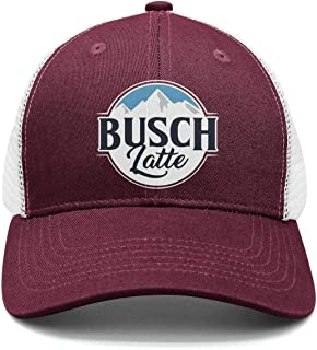 Dad Busch-Light-Busch-Latte-Beer- Strapback Hat Fashion mesh Caps