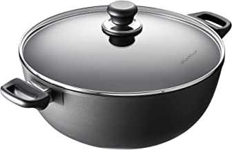 SCANPAN 53553200 Classic Induction Covered Stock/Stew Pot, 32cm
