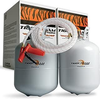 Tiger Foam E-84 Fast Rise 600 Bd/Ft Spray Foam Insulation Kit