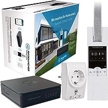 """RADEMACHER HomePilot actiepakket""""Avondstemming"""" Smart Home centrale incl. elektrische draadloze riemwikkelaar (RolloTron S..."""