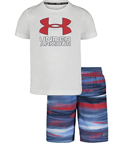 Under Armour Kids Grater Volley Set (Toddler) (White) Boy