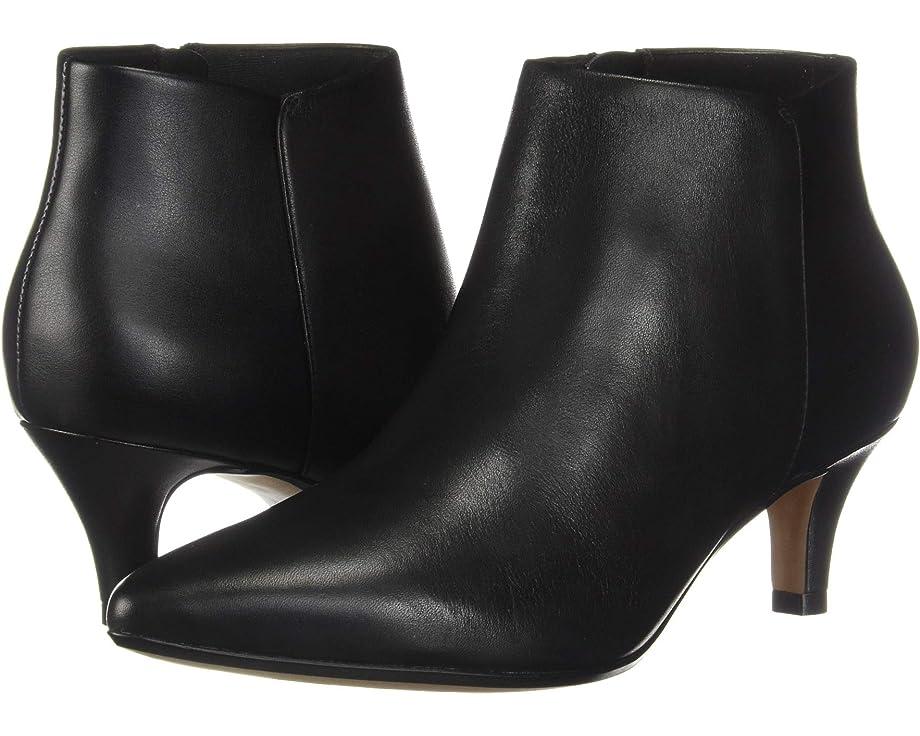 black kitten heel