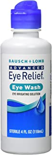 Bausch & Lomb Advanced Eye Relief Eye Wash, 4 Fl Oz, Pack of 3