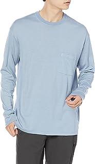 [アイスブレーカー] Tシャツ ネイチャーダイ ロングスリーブ ポケットクルー メンズ