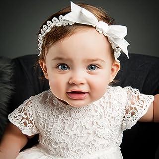 Grace Baby Girl Lace Christening Headband