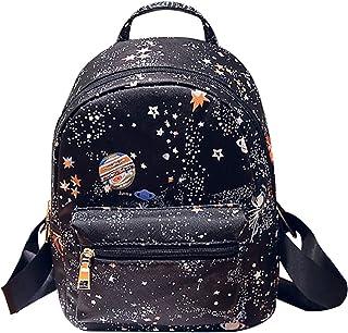 Clara Camouflage Women Mini Backpack Nylon Leisure Daypack Printed Shoulder Bag Handbag Purse