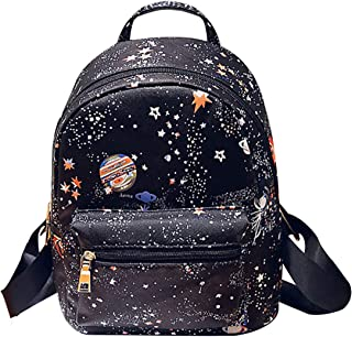 Van Caro PU leather Casual Mini Backpack Purse Travel Shopping Daypacks