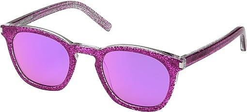 Pink Glitter/Pink Purple Mirror