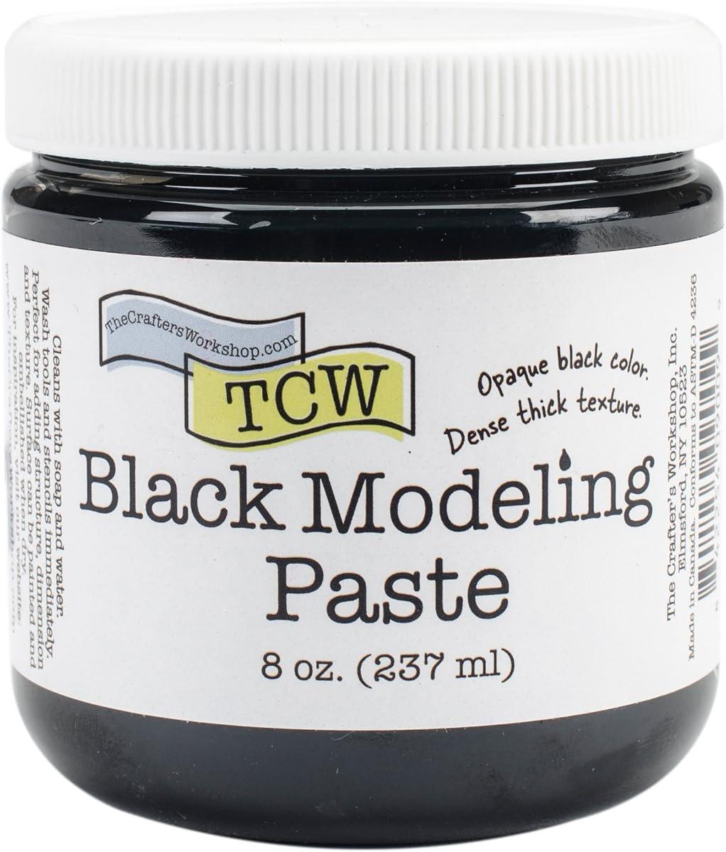 CRAFTERS Spasm price WORKSHOP TCW9009 Paste Modeling Popular products 8oz-Black