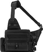 Crossbody Fishing Tackle Bag,Multifunctional Fishing Reel...