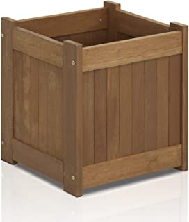 Furinno FG16450 Tioman Hardwood Flower Box, One-Pack