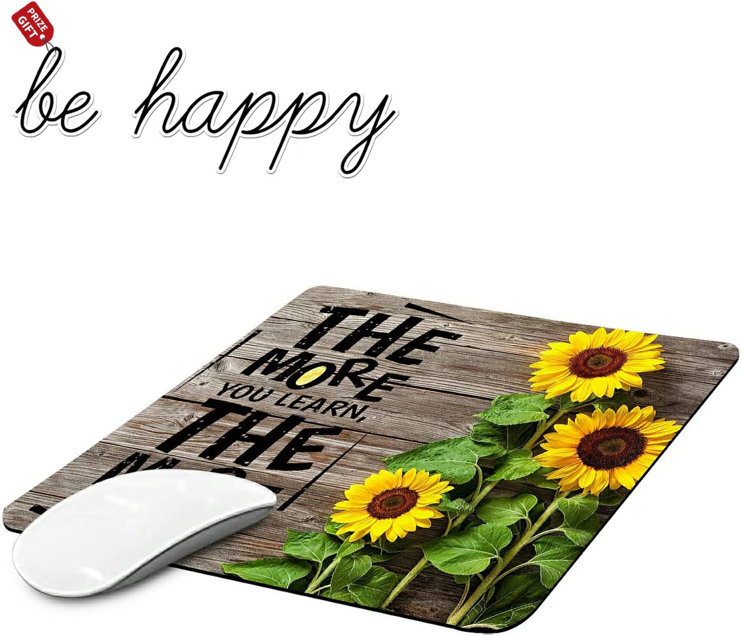 Gaming Mouse Pad Spring new work Money Sunflower Laptop Non-Slip for Pads free