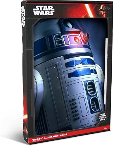precios ultra bajos STAR WARS - Photo Illuminated Canvas Large R2D2 R2D2 R2D2 60x40cm x1  sorteos de estadio