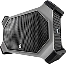 ECOXGEAR EcoSlate Rugged and Waterproof Wireless Bluetooth Speaker (Gray) (Renewed)