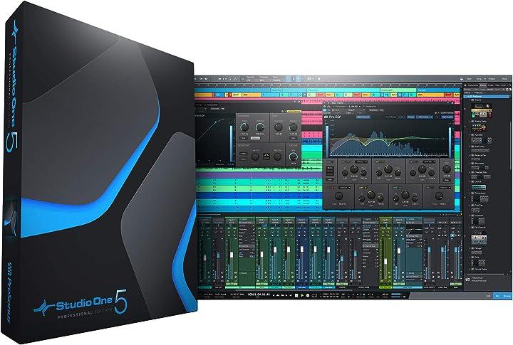 Studio one 5 professional/download card B08BX57Y2J