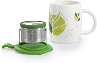 Charles Viancin Silicone Tea Range CamelliaMug and Tip Tea Strainer set