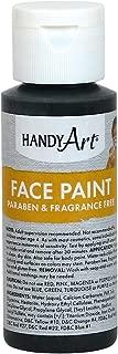 Handy Art 558-055 Face Paint, Black, 2-Ounce