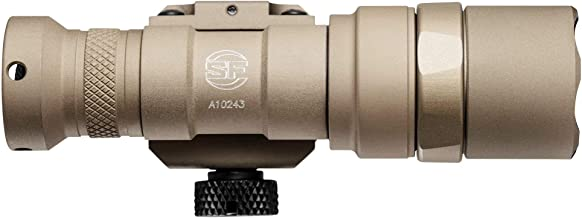 M300C-Z68-TN Scout Light, 3V, M75 Thumb Screw Mount, 500 Lumens, Tan, Z68 Click On/Off Tailcap