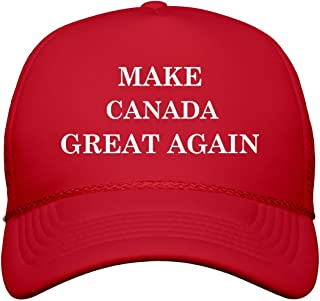 Make Canada Great Again: Snapback Trucker Hat Red
