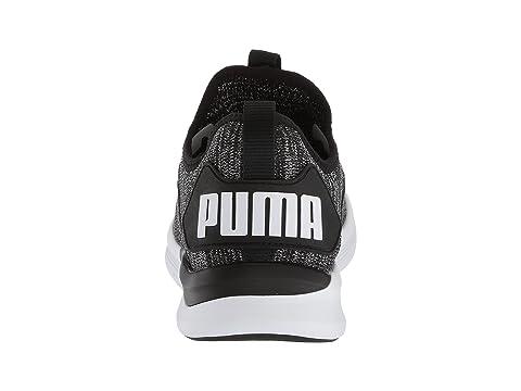 PUMA Puma Blanco Asfalto Flash Ignite Negro Puma evoKNIT rqStBrZnw