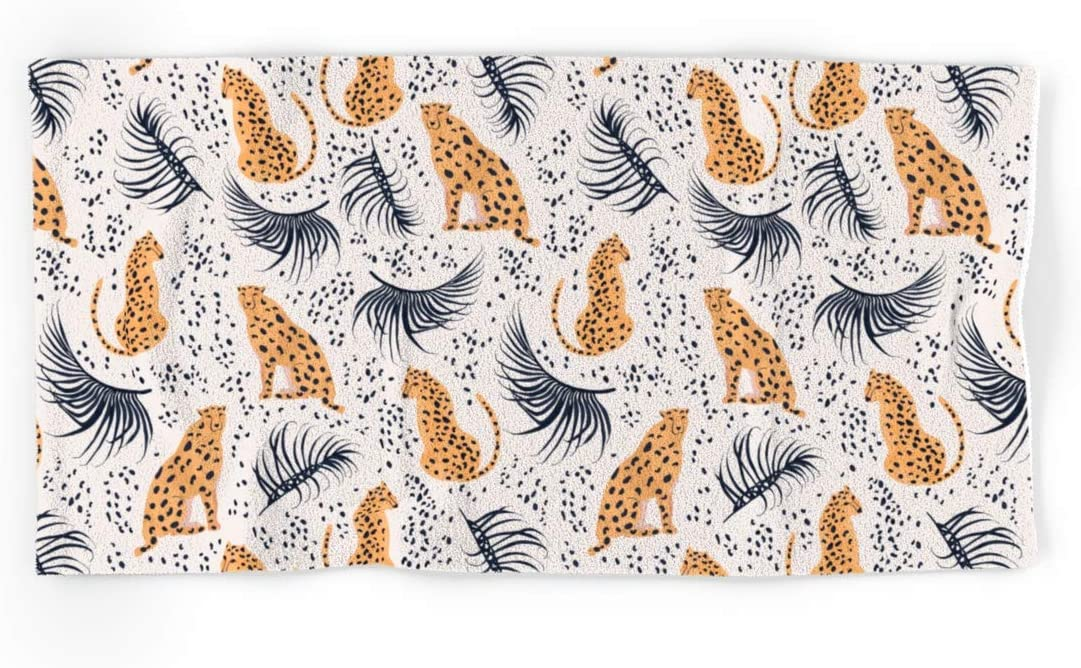 Society6 Cheetah by 55% OFF Lidiebug on Hand and Bath Towels Fees free - Set of 4