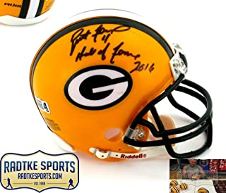 Brett Favre Autographed/Signed Green Bay Packers Riddell NFL Mini Helmet with