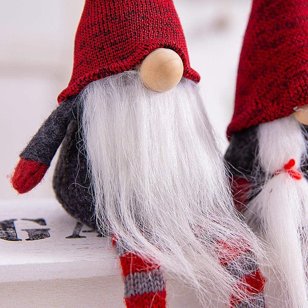 Yunnan Figurine de lutin su/édois Tomte /à longues jambes Fait /à la main