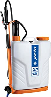 Jacto XP416 Backpack Sprayer, Professional UV Resistant Garden Pump, Perfect for Pesticide Control, Translucent White