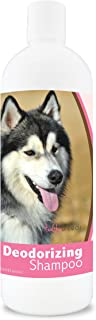 Healthy Breeds Dog Deodorizing Shampoo For Siberian Husky - Over 200 Breeds - For Itchy Sensitive Dry Flaking Scaling Skin...