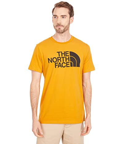 The North Face Short Sleeve Half Dome T-Shirt (Citrine Yellow/TNF Black) Men