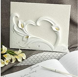 FASHIONCRAFT Calla Lily Design Wedding Guest Book