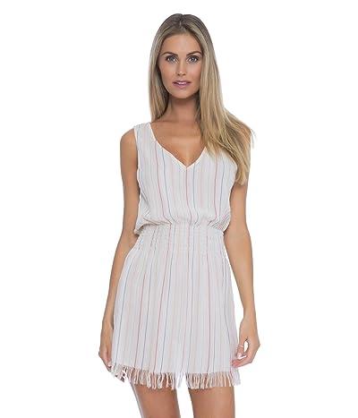 BECCA by Rebecca Virtue Endless Summer Metallic Stripe Dress Cover-Up