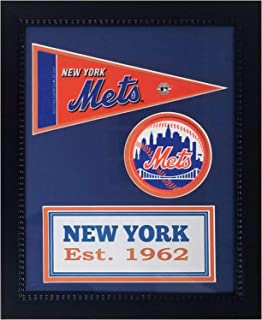 Encore New York Mets Pennant Banner Team Spirit Coaster Frame 11