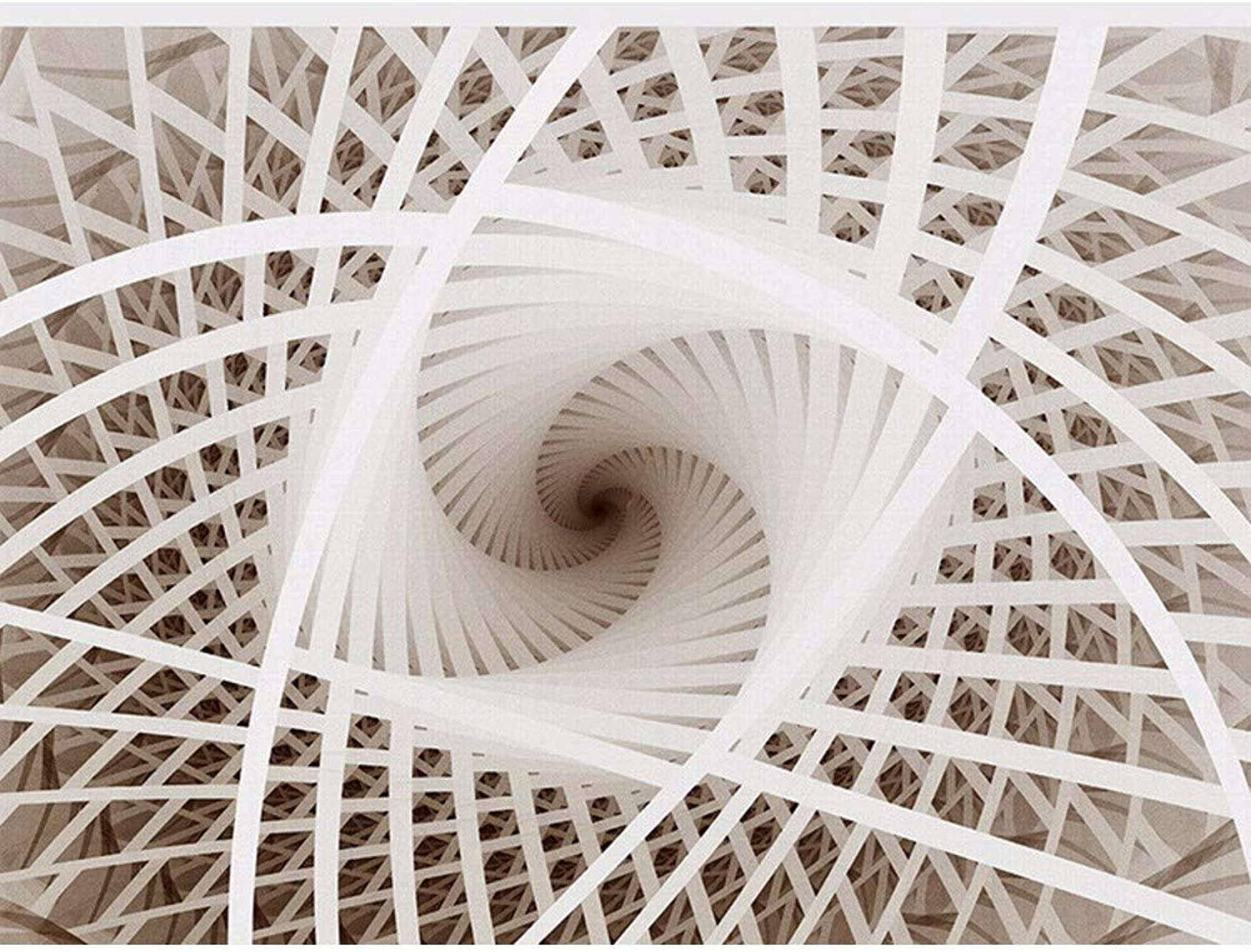 alta calidad y envío rápido Rureng 3D Arte Arte Arte Geométrico Remolino Murales De Techo Sala De Estar Tv Telón De Fondo Hotel Restaurante Jane Euro Techo Wallpaper-200X140Cm  moda clasica