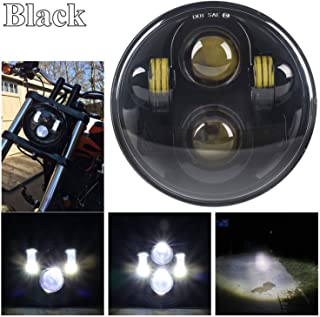 Best 5 inch motorcycle headlight Reviews