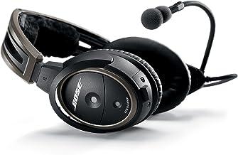 Auriculares de aviación Bose A20 con cable de enchufe Sin Bluetooth Negro