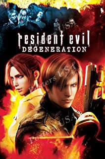 Posters USA Resident Evil Bio Hazard Degeneration Movie Poster GLOSSY FINISH - MOV479 (24