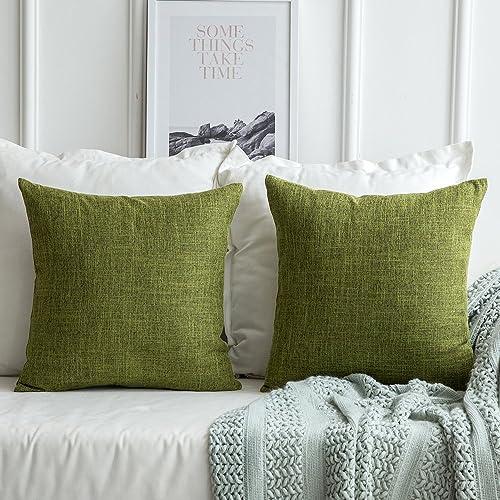 Enjoyable Green Pillow For Living Room Decor Amazon Com Ibusinesslaw Wood Chair Design Ideas Ibusinesslaworg