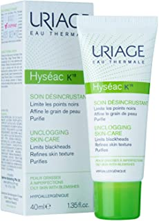 Uriage Hyseac K18 Limits Black Heads, Refines Skin Texture - 40ml