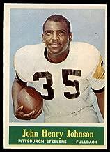 Football NFL 1964 Philadelphia #144 John Henry Johnson Ex-Mint Steelers