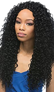 OUTRE Synthetic Hair Weave Batik Duo Dominican Curly 5PCS (1B)