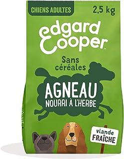 Edgard & Cooper Croquettes Chien Adulte sans Cereales Nourriture Naturelle 2.5kg Agneau Frais Hypoallergénique, Alimentati...