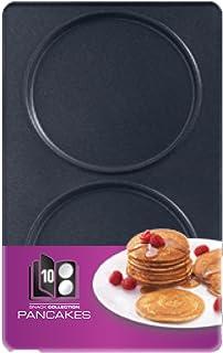 Tefal Coffret Snack Collection de 2 plaques pancakes + livre de recettes XA801012