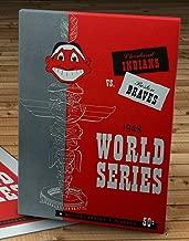 1948 Vintage Boston Braves - Cleveland Indians - World Series Program - Canvas Gallery Wrap - 10 x 14