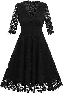 cd4579c02b85c Amazon.com: 3/4 Sleeve - Formal / Dresses: Clothing, Shoes & Jewelry