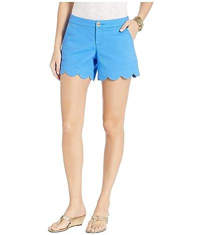 Lilly Pulitzer Buttercup Stretch Shorts (Coastal Blue) Women